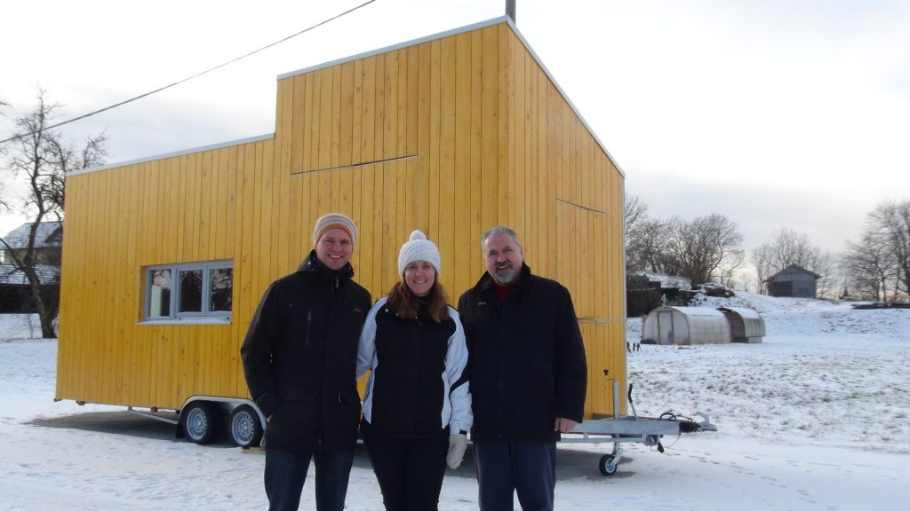First Tiny House in Slovenia : houzEKO on wheels
