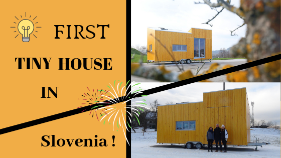 First Tiny House in Slovenia : houzEKO on wheels